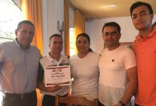 Colegio de Árbitros de Baloncesto reconoció labor del presidente de la liga