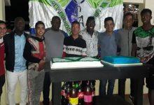 Futbolistas del Club Carlos Abella vivieron gala de fin de año