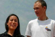 Froome y Mariana Pajón compartieron con menores en Medellín