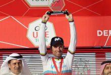 Triunfo de Alejandro Valverde en los Emiratos Árabes