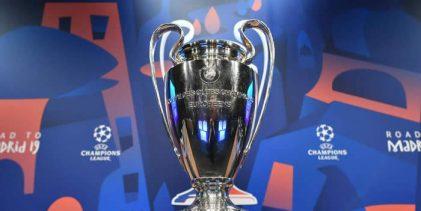 La Champions tiene sus llaves de cuartos y semifinales