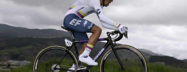 Comenzó la Vuelta al País Vasco, Daniel Martínez segundo en primera etapa
