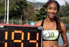 Atleta juvenil rompe record de Catherine Ibarguen