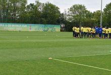 Colombia, lista para el juego con Tahití