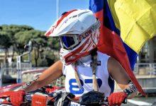 Andrea Domínguez, en válida de mundial de motonáutica