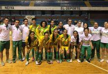 Listo clasificatorio de fútbol sala femenino a Juegos Nacionales