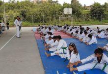 Taekwondo opita alista final de año