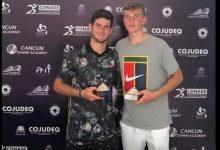 Nicolás Mejía logró título en dobles en México