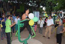 En el barrio Antonio Baraya, Neiva completó 50 parques biosaludables