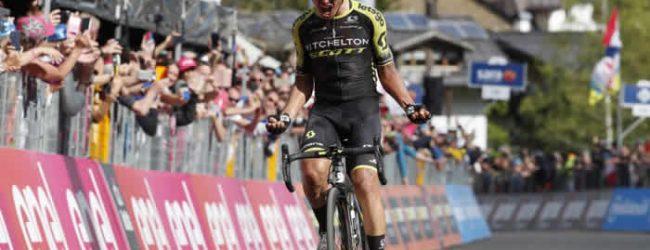 Esteban Chaves optimista frente a la Vuelta a España
