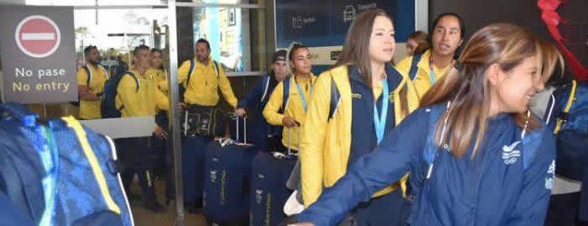 Las campeonas panamericanas llegaron a Colombia