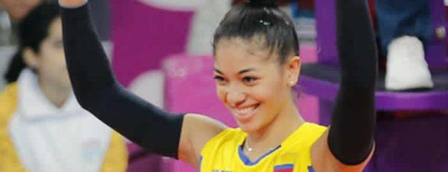 Voleibolista colombiana jugará en Europa