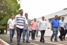 Odebo visita obras en Valledupar pensando en los Bolivarianos de 2021