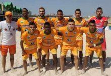 Pese a derrota, Utrahuilca pasa primero en el fútbol playa