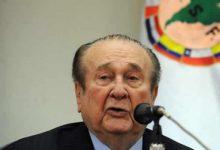 Murió Nicolás Leoz, ex presidente de Conmebol