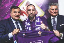 Franck Ribery llega a la Fiorentina