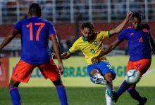 Derrota de Colombia en amistoso sub – 23 ante Brasil