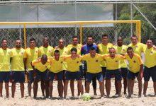 Selección de fútbol playa conoce el horario de sus juegos para la Liga Sudamericana