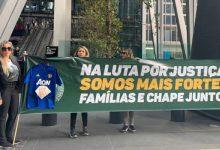 Viudas de los jugadores del Chapecoense reclaman indemnizaciones