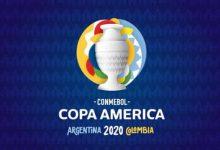 Listo el logo de la Copa América 2020
