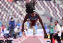 Catherine Ibarguen logra bronce en los mundiales de atletismo
