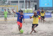 Doble derrota colombiana en Liga Sudamericana de Fútbol Playa
