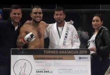 Opita ganó título nacional amateur de artes marciales mixtas