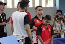 Sin competir, Josimar Calvo fue protagonista en los Juegos Nacionales