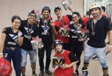 Roller freestyle colombiano, protagonista en Brasil