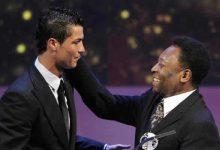 El reto de Pelé a Cristiano