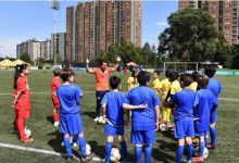 Federación de fútbol realiza campus deportivo