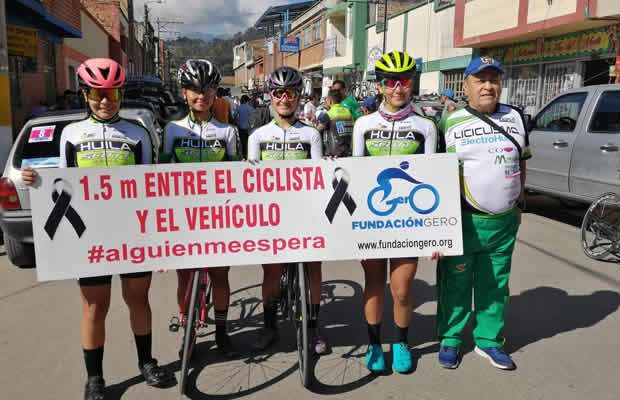 Corredoras opitas siguen ascendiendo en la Vuelta Nacional del Futuro