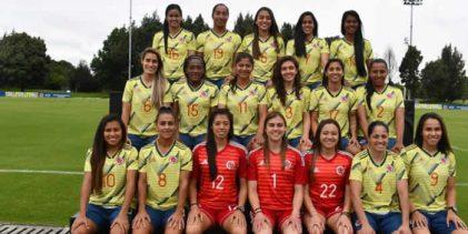 Colombia se mantiene en el ranking femenino de la FIFA