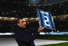 Inter de Milán homenajeó a Iván Ramiro Córdoba
