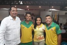 Reconocimiento de la Usco a estudiantes medallistas en Juegos Nacionales