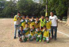 Sigue la fiebre del fútbol en el barrio Cándido Leguizamo