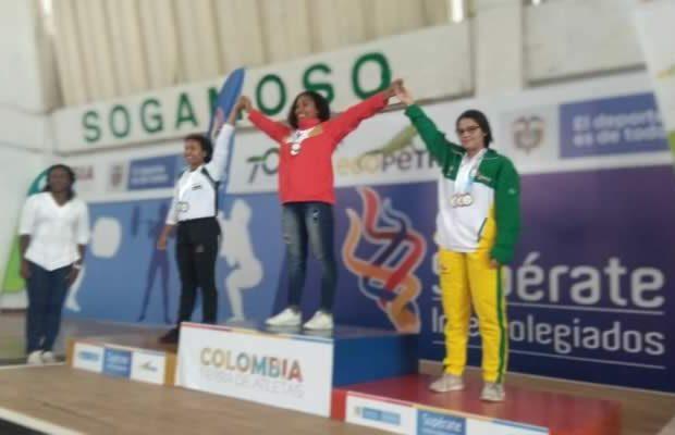 Cuatro nuevas medallas para el Huila en los Juegos Intercolegiados