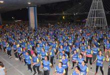 Neivanos participaron de maratón de aeróbicos
