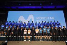 Presentado el equipo Movistar, con cuatro colombianos en nómina