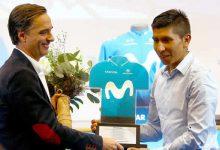 Movistar le rindió homenaje a Nairo Quintana en su despedida