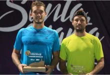 Torneo de tenis M15 de Santa Marta ya tiene a sus campeones