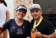 Presencia femenil opita en el Iron Man de Cartagena