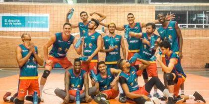 Selección de voleibol comenzó participación en el Perú