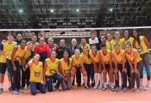Ministro del Deporte y su mensaje de respaldo al equipo de voleibol femenino