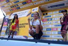 HISTÓRICO: María Catalina Gómez, campeona nacional de ciclismo