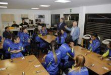 Homenaje del Comité Olímpico a la selección femenina de voleibol