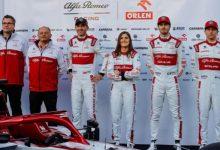 """Calderón tras su continuidad en Alfa Romeo: """"agradecida"""""""