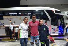 Futbolistas del Club Julián Diaz, a Cali