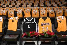 Los Lakers rindieron homenaje a Kobe Bryant