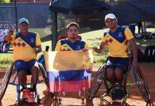 Colombia se destacó en clasificatorio de tenis paralímpico